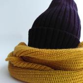 Комплект шапочка и снуд