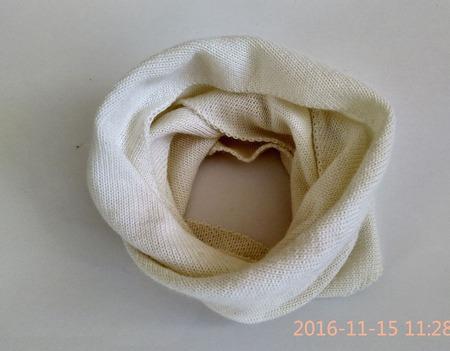 Комплект шапка и снуд ручной работы на заказ