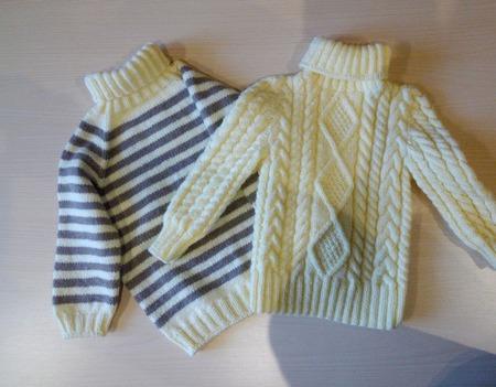 Вязаная одежда для детей ручной работы на заказ