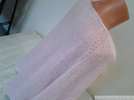 Вязаная женская кофта ручной работы на заказ