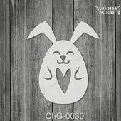 Чипборд Пасхальный заяц