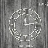 Чипборд Часы