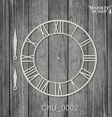 Чипборд Часы ручной работы на заказ