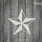 Чипборд Звезда
