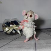Мышка - тедди