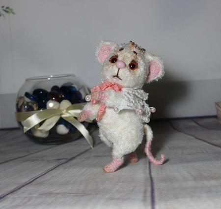 Мышка - тедди ручной работы на заказ