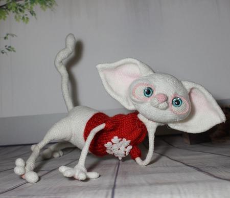 Кошка Ябеда ручной работы на заказ
