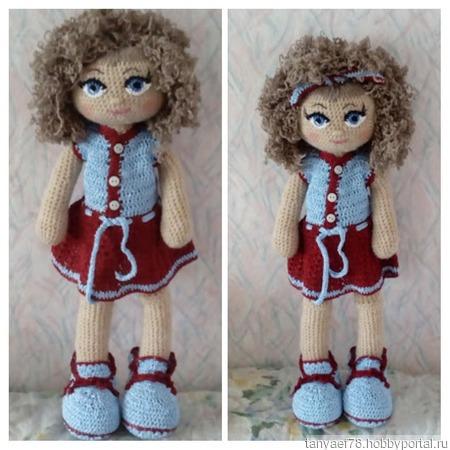 Кукла Кудряшка ручной работы на заказ