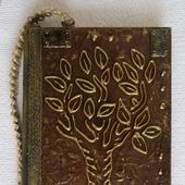 """Ежедневник недатированный с красивыми листами .  """"Волшебное дерево"""""""