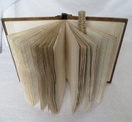 Блокнот состаренный «Единорог». Блокнот А5 с красивыми листами ручной работы на заказ