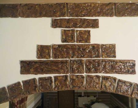 Облицовочный камень — под старину. Папье маше мастер класс ручной работы на заказ