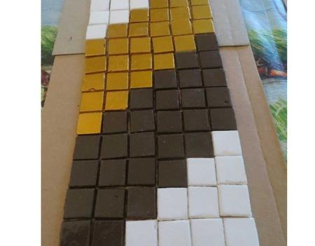 """Гипсовые фигурки """"Изготовление мозаичной плитки"""" Мастер класс ручной работы на заказ"""
