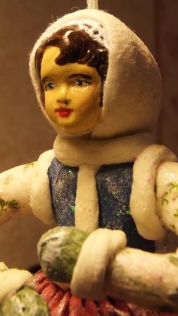 "Кукла ""Танцующая девочка"" ручной работы на заказ"