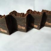 Натуральный кофейный скраб-мыло