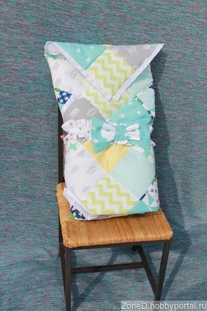 Одеяло пэчворк ручной работы на заказ