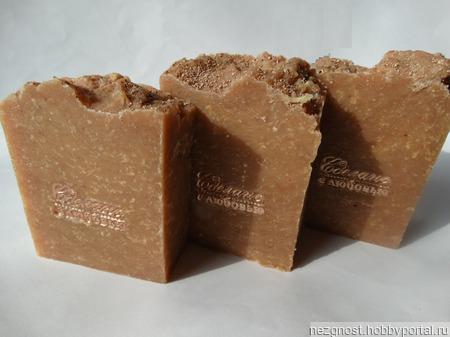 Натуральное мыло с куркумой ручной работы на заказ
