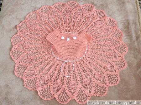 Платье для девочки Мамина принцесса ручной работы на заказ