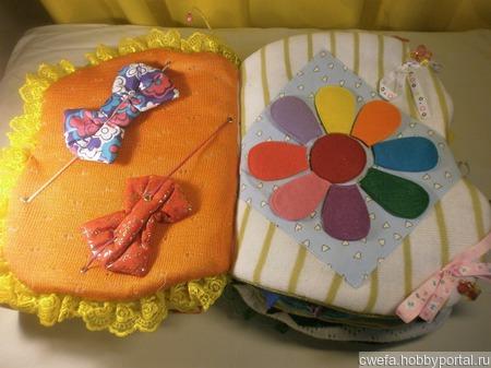 Развивающая книга-бабочка ручной работы на заказ