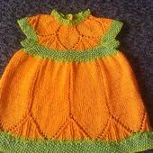 Платье для девочки 6-9 мес.