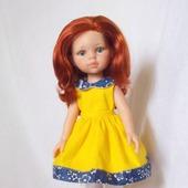 Кукла Paola Reina c большим гардеробом