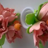 """Резинки """"Цветы весны"""""""
