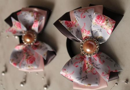 Бантики Цветы ручной работы на заказ