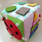 Развивающий кубик для детей