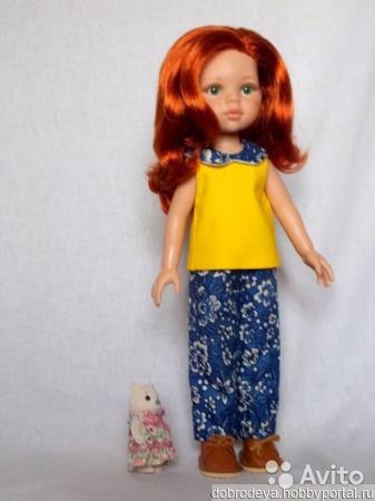 Кукла Paola Reina c большим гардеробом ручной работы на заказ