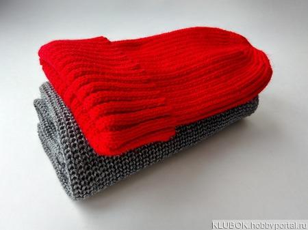 Комплект из шапочки и снуда ручной работы на заказ