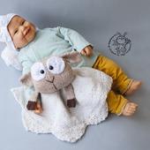 фото: вязаная игрушкавязание спицамиМКавторская игрушкамастер-классописание вязанияописание игрушкисплюшкабелыйкомфортеровечка игрушкаовечкаовечка ручной работыовечка сувенировечка малышу