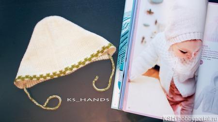 Чепчик для новорожденного ручной работы на заказ