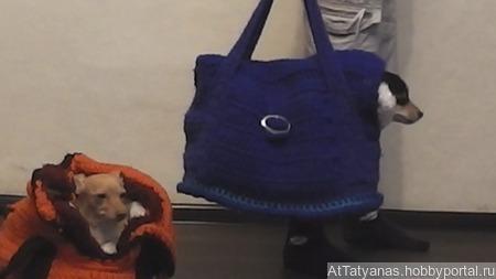 Зимняя переноска для животных ручной работы на заказ
