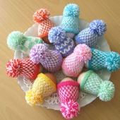 Шапочки на пасхальные яйца