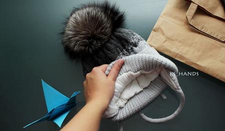 Комплект детский зимний ручной работы на заказ
