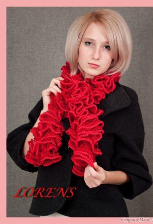 Пряжа Alize DANTELA цвет 106 красный, 16% полиамид 84% акрил, 100 гр ручной работы на заказ
