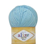 Пряжа Alize Cotton gold plus 55% хлопок, 45% акрил, 100 гр 200 м.