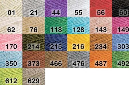 Пряжа Alize Cotton gold plus 55% хлопок, 45% акрил, 100 гр 200 м. ручной работы на заказ