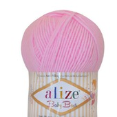 Пряжа Alize Baby best (Ализе Беби бест)10% бамбук, 90% акрил, 100 гр.
