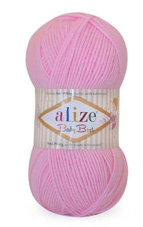 Пряжа Alize Baby best (Ализе Беби бест)10% бамбук, 90% акрил, 100 гр. ручной работы на заказ