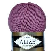 Пряжа Alize Lanagold 49% шерсть 51% акрил, 100 гр 240 м.