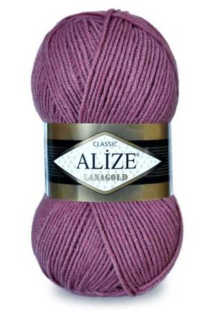 Пряжа Alize Lanagold 49% шерсть 51% акрил, 100 гр 240 м. ручной работы на заказ