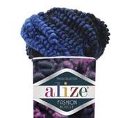 Пряжа Alize Fashion boucle 70% акрил, 25% шерсть, 5% полиамид