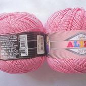 Пряжа Alize Aura (Ализе Аура) 80 % микрофибра акрил 20 % полиамид