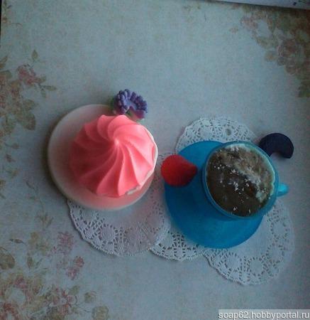 Зефирка (мыло ручной работы) ручной работы на заказ