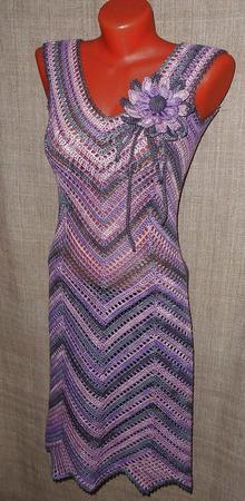 """Мастер-Класс вязания авторского платья """"Диагональ"""" (основы) ручной работы на заказ"""