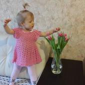 """Платье для девочки """"Зефирка"""""""