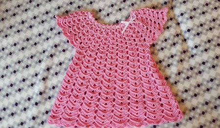 """Платье для девочки """"Зефирка"""" ручной работы на заказ"""