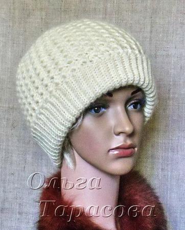 Мастер-класс по вязанию авторской шапочки (ОСНОВА!) ручной работы на заказ