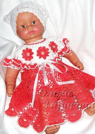Мастер-Класс по вязанию авторского детского платья (основы) ручной работы на заказ