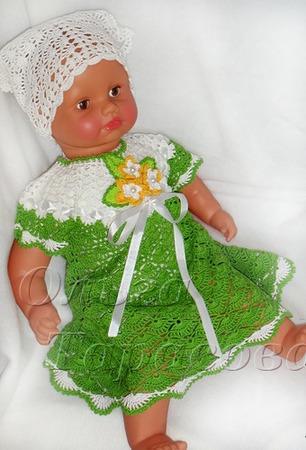 Платья для девочек, ажурные ручной работы на заказ